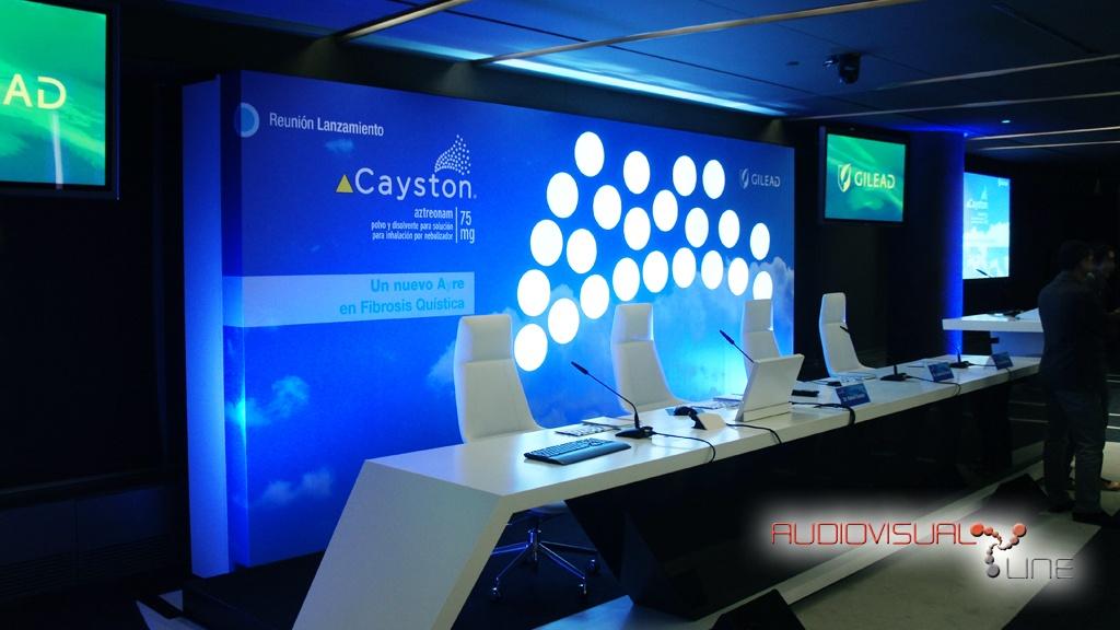 Lanzamiento de Cayston