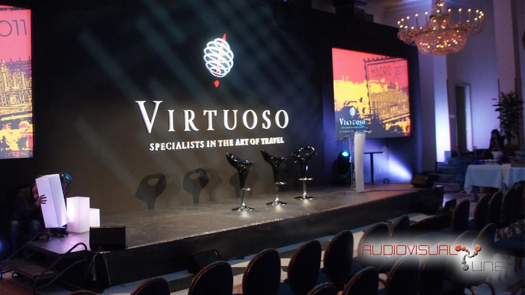 Evento de aniversario de Virtuoso