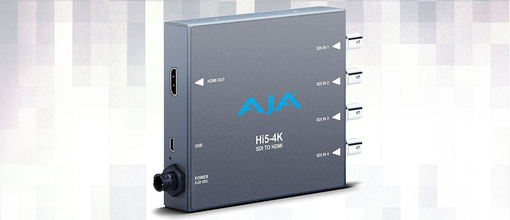 Alquiler Convertidor HDMI AJA Hi5-4K
