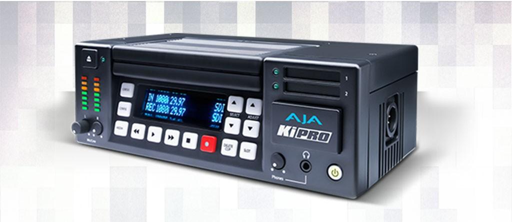 Alquiler Grabadora AJA Ki Pro en disco duro