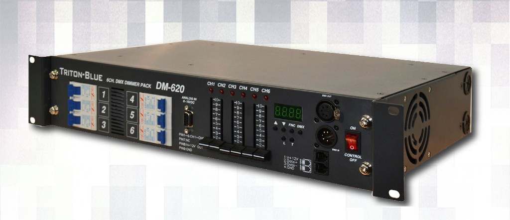 Alquiler Dimmer 6 canales DMX 20
