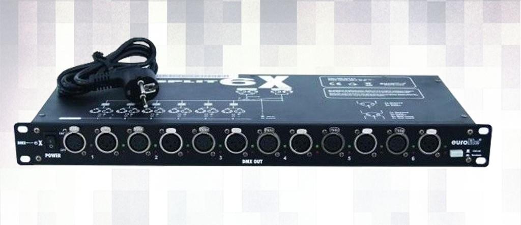 Alquiler Eurolite 6 canales DMX Splitter