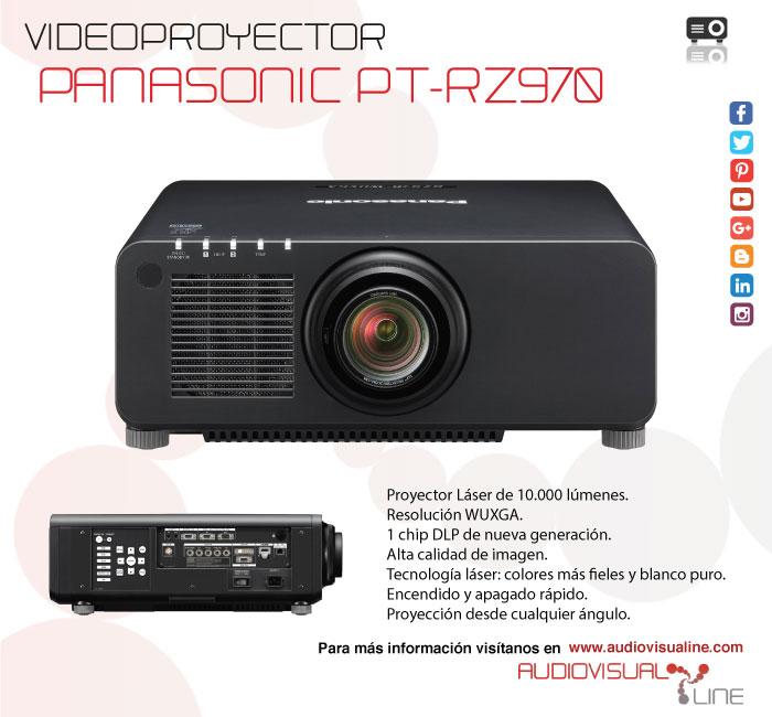 Proyector Panasonic PT-RZ970