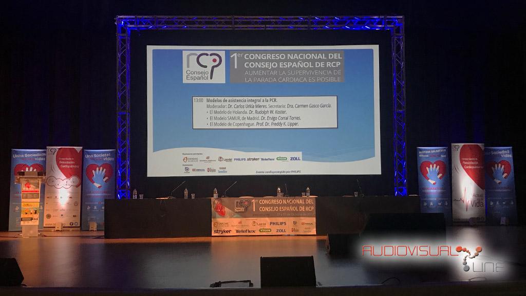 Montaje del evento de CERCP