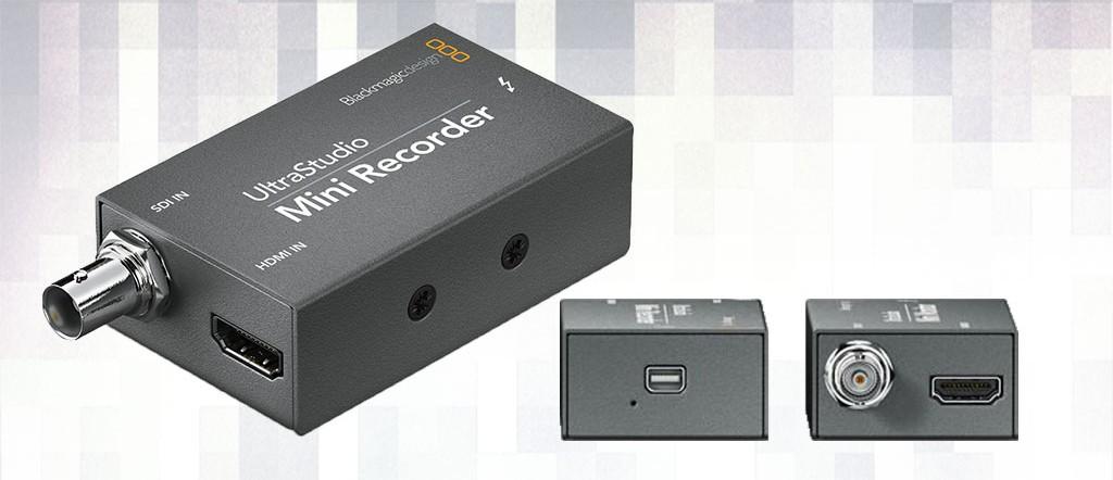 Alquiler Ultrastudio Mini Recorder