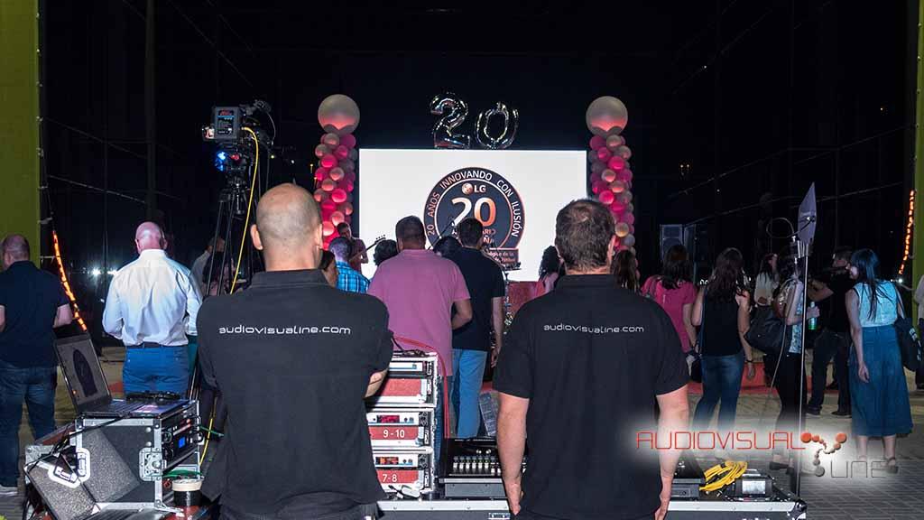 Evento LG 20 años