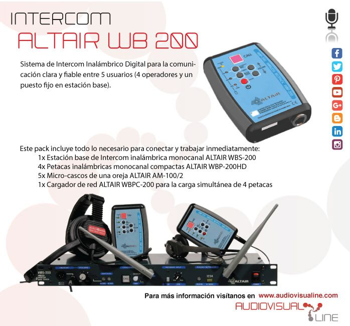 Intercom ALTAIR WB-200