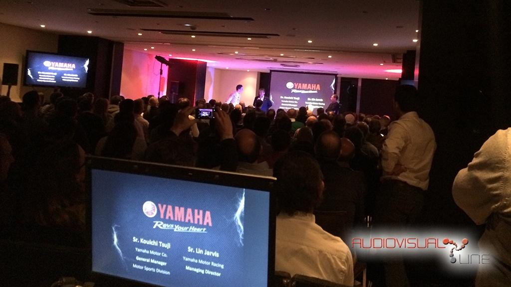 Lanzamiento Yamaha