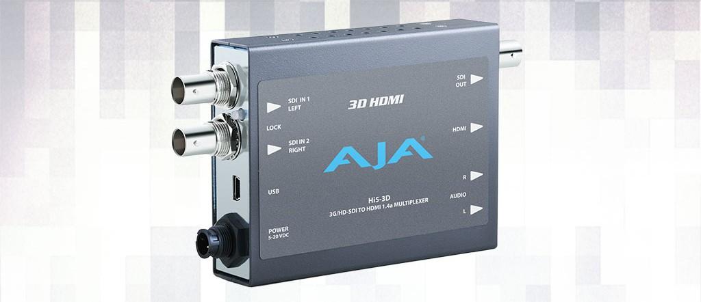 Alquiler Convertidor HDMI AJA Hi5-3D