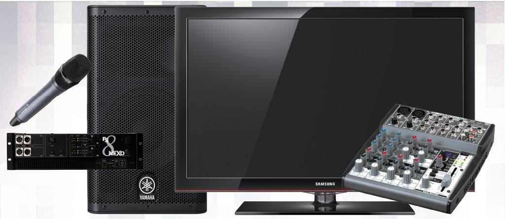 Alquiler de monitores para ferias