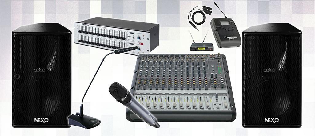Alquiler equipos de sonido y megafonía
