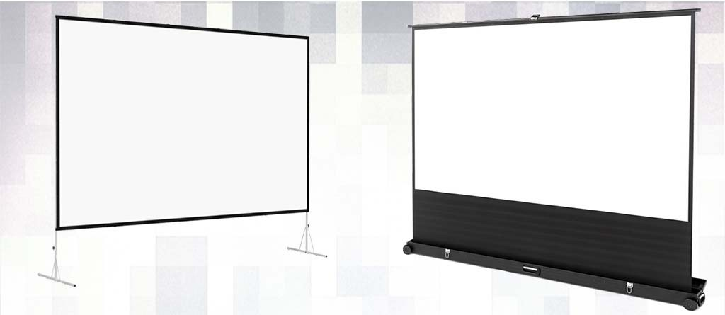 Alquiler de pantallas para proyección