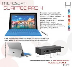 microsoft surface pro 4 audiovisualine