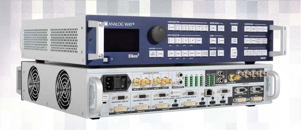 Alquiler mezclador EIKOS 2 AnalogWay