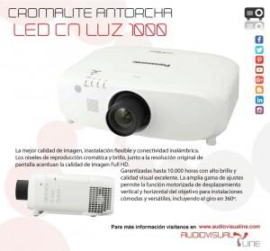 proyector panasonic Audiovisualine