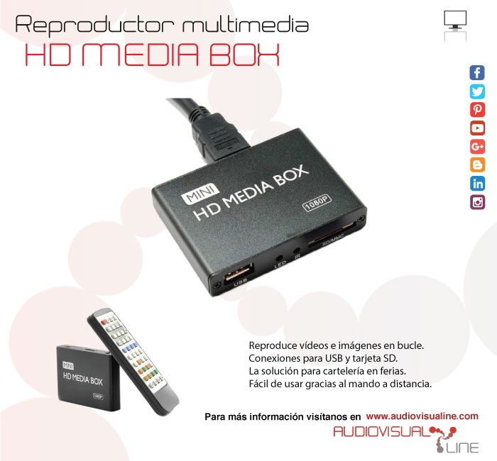 Mini HD Media Box