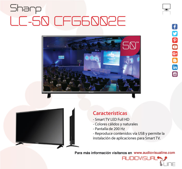 Sharp 50-inch Screen