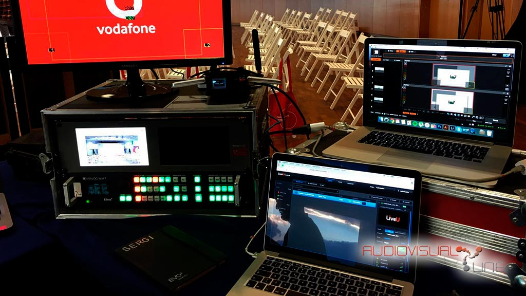 Streaming multicapa para Vodafone Fast Forward Sessions