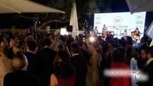 Equipo de sonido para concierto y pantalla LED para el evento de Maribel Yébenes