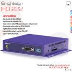 (Español) Brightsign HD 222