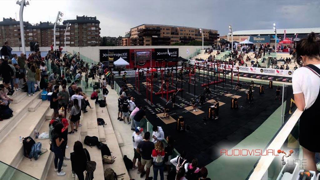 Montaje audiovisual de la competición de crossfit Spanish Throwdown