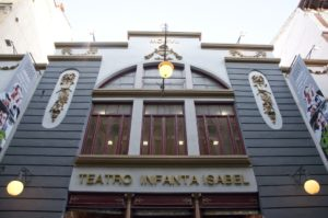 Teatro Infanta Isabel con aforo para 600 personas