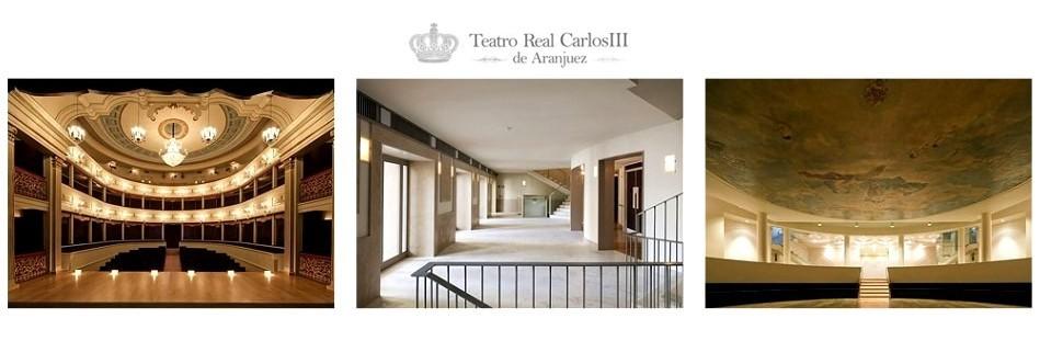 Teatro Real Carlos III de Aranjuez con aforo para 300 personas