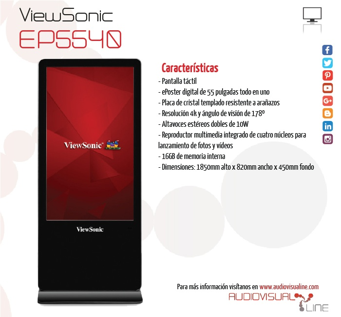 ViewSonic EP5540