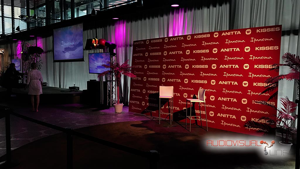 Montaje audiovisual del Evento para la marca Ipanema