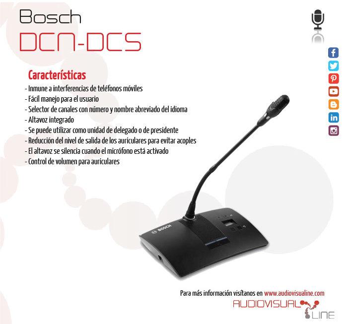 (Español) Bosch DCN-DCS