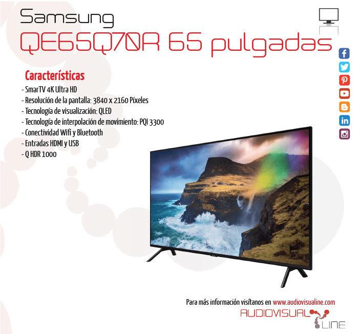 Pantalla de 65 pulgadas Samsung QE65Q70R