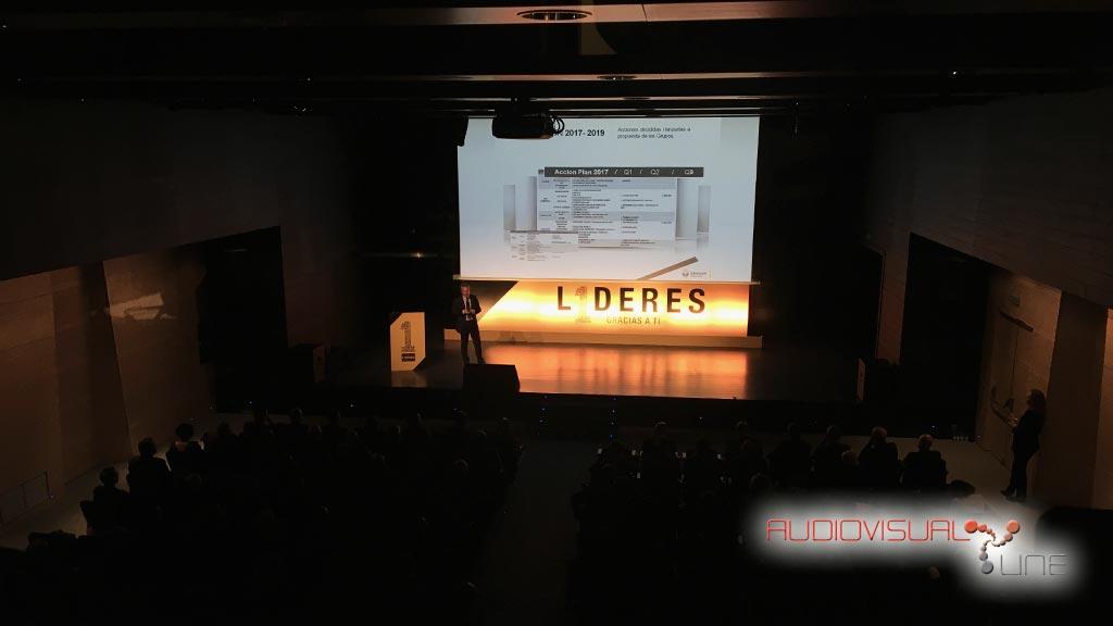Montaje audiovisual del evento para Renault
