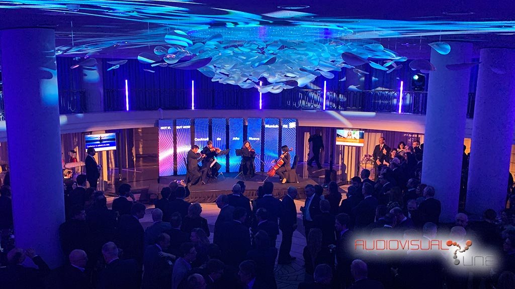 Evento audiovisual para Munich RE en Hotel Palace